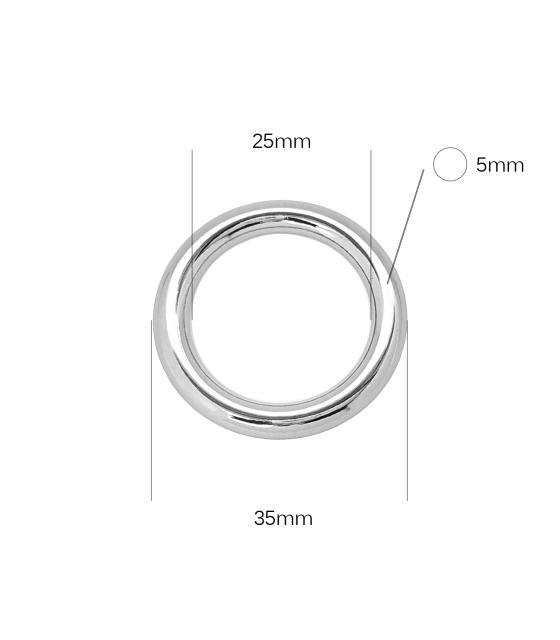 25mm lietas žiedas ZL3119